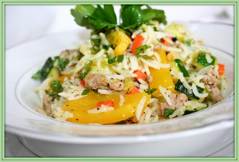 Povrće sa mlevenim mesom i pirinčom 002