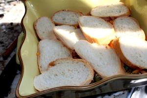 Musaka od šampinjona, kelja i bajatog hleba 003