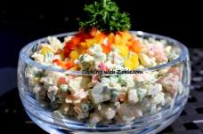 Ruska salata na drugačiji način